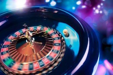 casino roulette in motion
